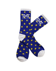 TMT MONEY DREAMS SOCKS BLUE/YELLOW