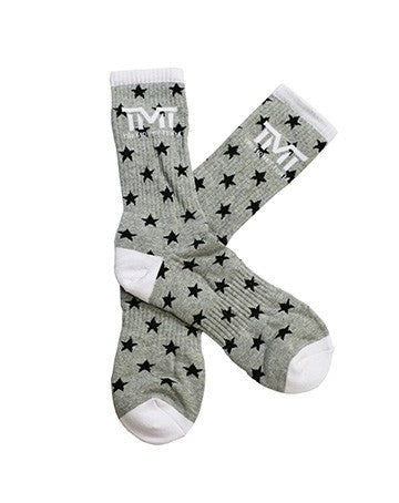 TMT MONEY DREAMS SOCKS GREY/BLACK