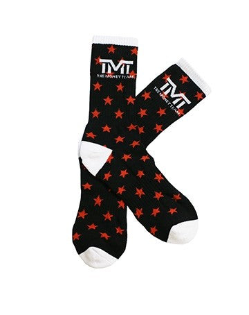 TMT MONEY DREAMS SOCKS BLACK/WHITE/RED