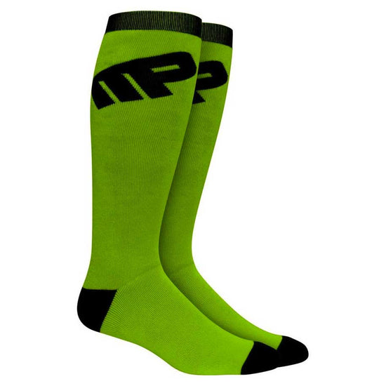 MusclePharm Knee Sock Green 2pk