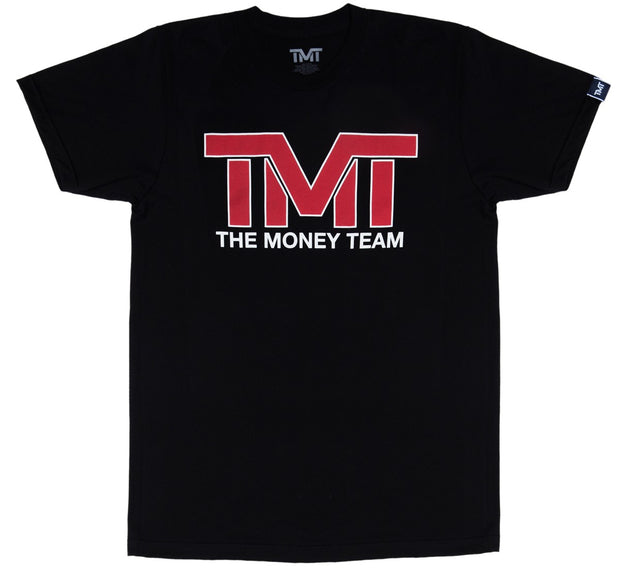 TMT AND STILL TEE- BLK/RED
