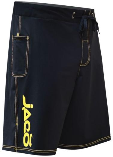 Tenacity Hybrid Training Shorts Black and Yellow.