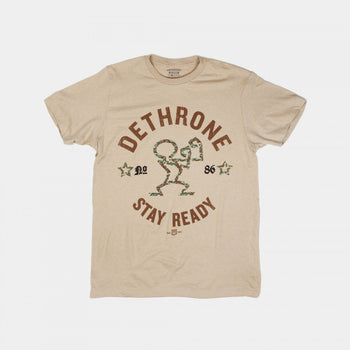 Dethrone Orginal Ready Tee Khaki