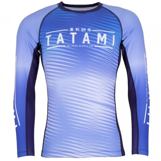 Tatami Blue Cirrus Rash Guard
