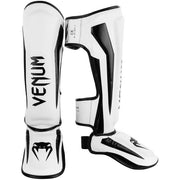 VENUM ELITE STANDUP SHIN GUARDS -WHITE/BLACK