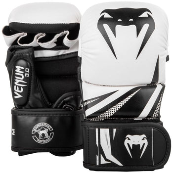 VENUM CHALLENGER 3.0 SPARRING GLOVES - WHITE/BLACK