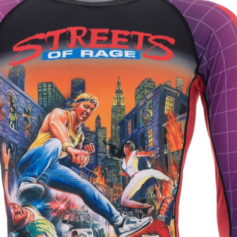 TATAMI -SEGA STREETS OF RAGE RASH GUARD