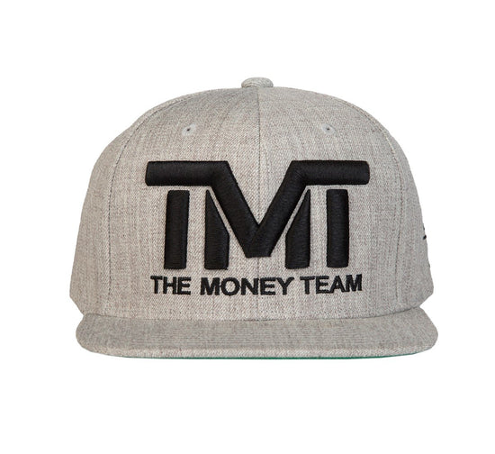 TMT Court Side Snapback Grey/Black