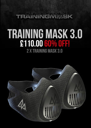 Black Friday 2 x Training Mask 3.0