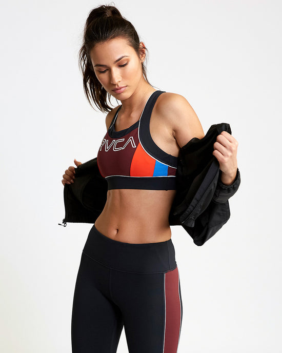 RVCA VA Lock Sports Bra