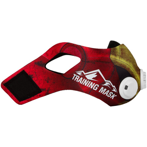 Elevation Training Mask 2.0 Red Iron Sleeve