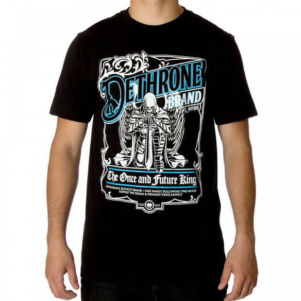 Dethrone Once and Future King tee Black