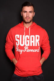 Roots of Fight Sugar Ray Leonard Pullover Hoody - Red