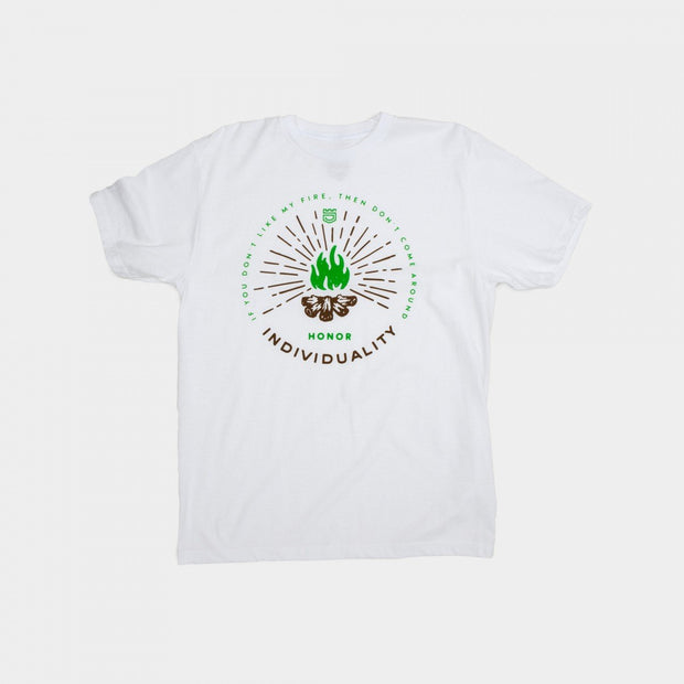 Dethrone CampFire Tee