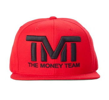 TMT Court Side Snapback Red/Black