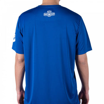 Dethrone Performance tee Blue