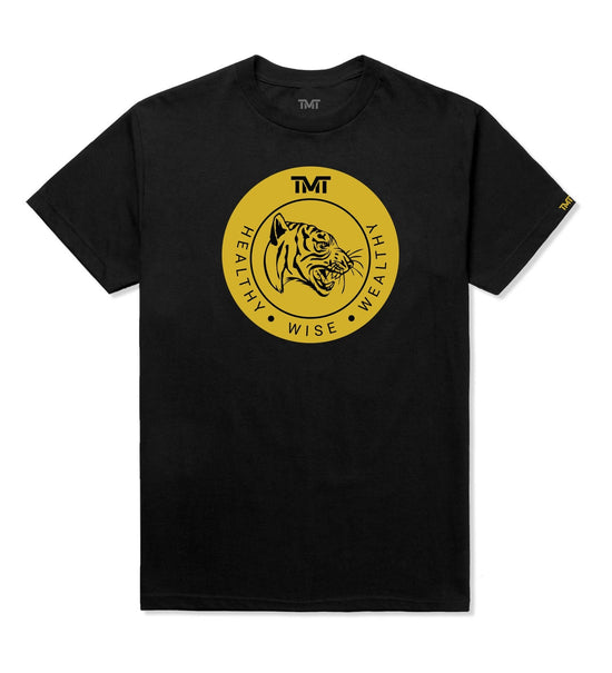 TMT WISE TIGER TEE - BLACK