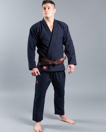 "Scramble ""Standard Issue - Semi Custom"" Kimono -Navy Edition"