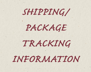 Tracking and Delivery Information