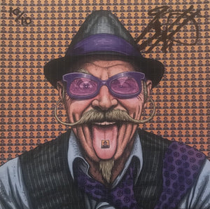 Gary Fisher Blotter Art SIGNED BY GARY FISHER (Limited Editon of 10) NOW AVAILABLE!