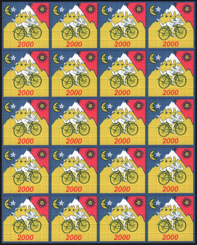 Albert Hofmann Bike Ride 2000 Yellow 20 Panel