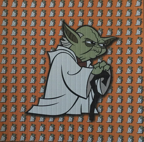 Angry Yoda Orange