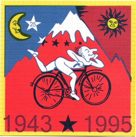 Albert Hofmann Bike Ride 1943-1995 Red LARGE