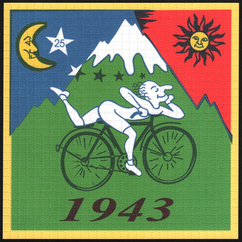 Albert Hofmann Bike Ride 1943 Green