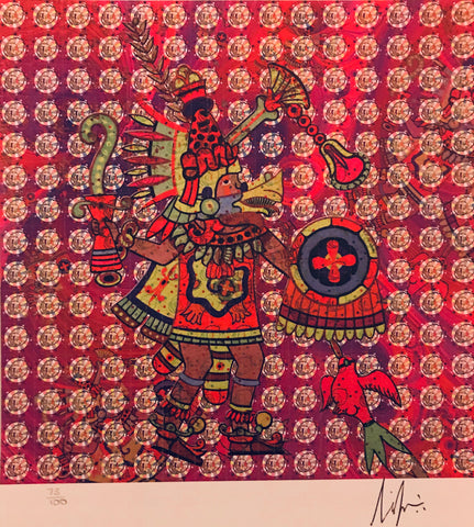 Quetzalcoatl - Signed and numbered