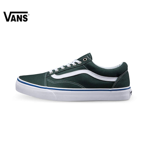 094f24606 VANS Old Skool Low-Top Forest Green Sneakers