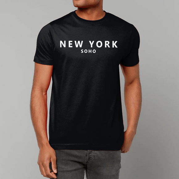 New York Soho t-shirt - black