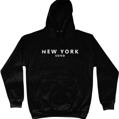 NEW YORK SOHO hoodie - black