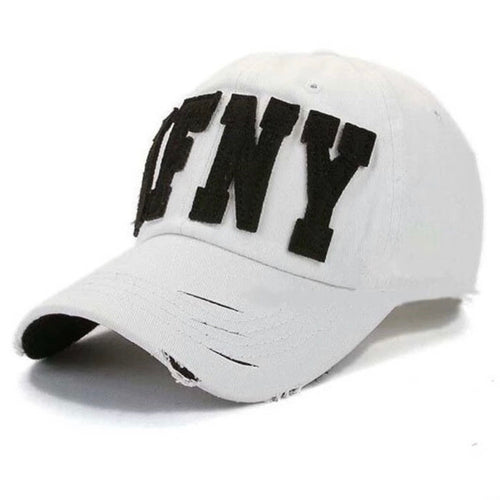 AFNY dad hat - White