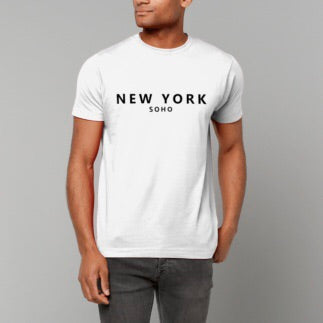 New York Soho t-shirt - white