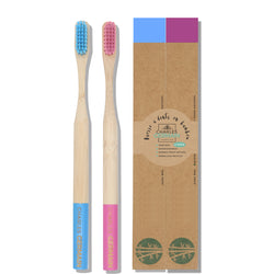 brosse dents bambou lot de 2
