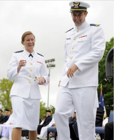 Abbie Coast Guard Academy Graduation