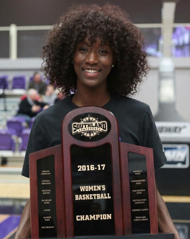 Raquel Logan University Central Arkansas UCA D1 Woman's Basketball Championship