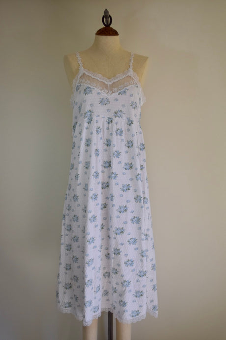 Vintage REworked Floral Dior Housedress - S