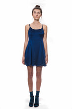 Cloud Silk Slip Dress - Midnight Blue