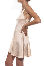 Cloud Silk Slip Dress - Champagne