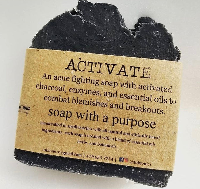 Tubtonics Activated Charcoal soap