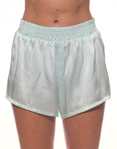 Cloud Silk Boxer Shorts - Mint Green