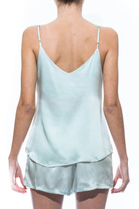 Cloud Silk Camisole -  Pastel Blue