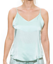 Cloud Silk Camisole -  Mint Green