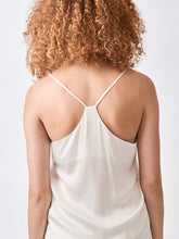 Silk Racerback Camisole Champagne top
