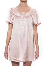 Cloud Silk Babydoll Dress - Rose Pink