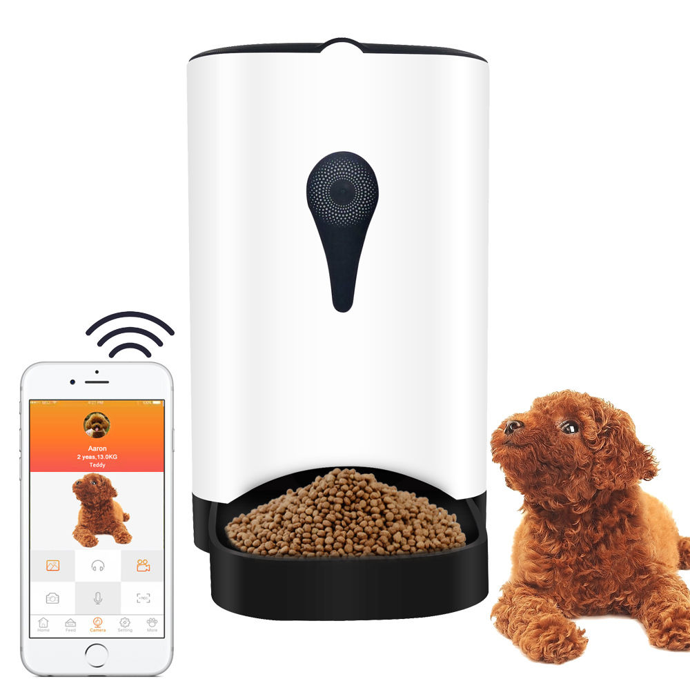 large vilead dog timer on super portion pet control feeder electronic item garden in from cat liter automatic feeding smart home