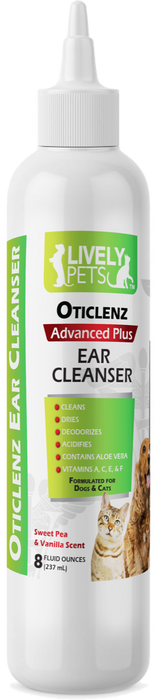 Ear cleaner wholesale pet products dogs cats sweet pea and vanilla dog ear infection yeast infections ear cleaner lively pets oticlenz