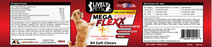 #1 Most Powerful Mega Flexx Hip & Joint Soft Chew for Small/Medium Dogs (0-59 lbs) 84 ct dasuquin cosequin