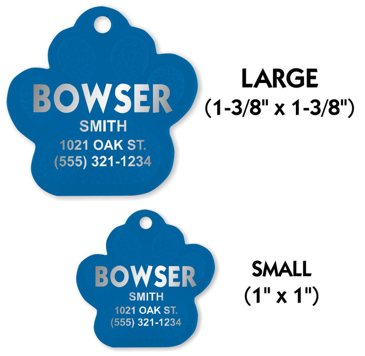 Pet Identification Tags for All Size Dogs and Cats | 5 STYLES | 5 COLORS | FREE SHIPPING! - LIVELY PETS ONLINE